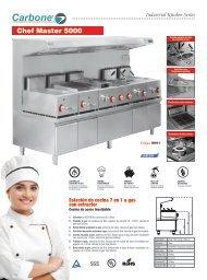 Catálogo Cocinas Serie Industrial