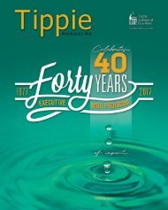 Tippie Magazine, Winter 2017 - Tippie College of Business