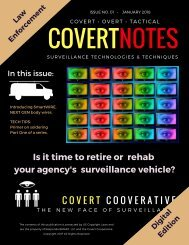 Covert Notes December 2017 Edition 1 Issue 1-3