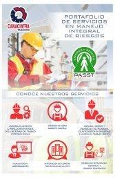 Portafolio de Servicios en Manejo Integral de Riesgos PASST