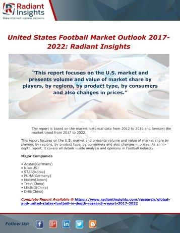 United States FootballMarket Outlook 2017-2022
