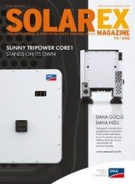 Solarex Magazine Kasım-Aralık 2017 Sayısı