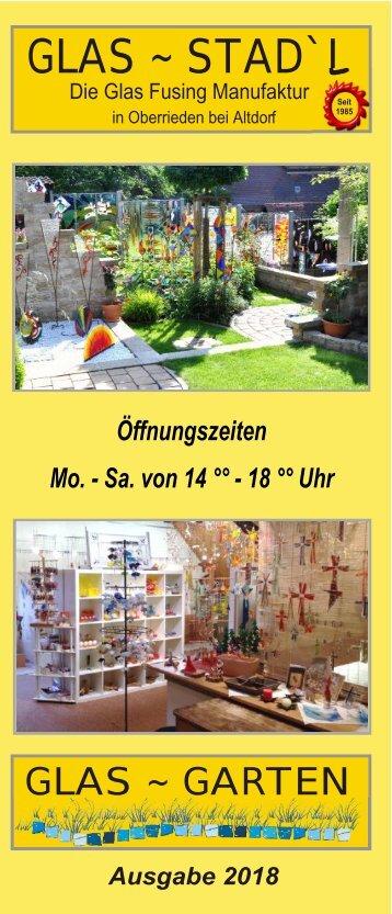 Glas Stadl - Die Glas Fusing Manufaktur in Oberrieden bei Altdorf / Bayern