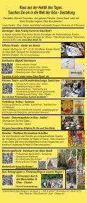 Glas Stadl - Die Glas Fusing Manufaktur in Oberrieden bei Altdorf / Bayern - Seite 2