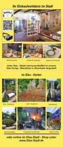Glas Stadl - Die Glas Fusing Manufaktur in Oberrieden bei Altdorf / Bayern - Seite 5