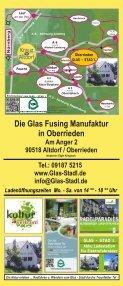 Glas Stadl - Die Glas Fusing Manufaktur in Oberrieden bei Altdorf / Bayern - Seite 6