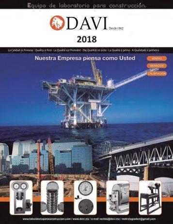 Catalogo DAVI 2018