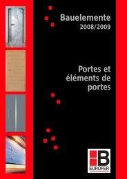 Bauelemente 2009 - Hilger-interfer SA