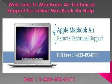 1-833-493-0111  Apple Macbook Air Technical Support Phone Number
