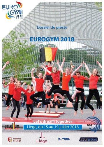 Eurogym 2018 - Dossier de Presse