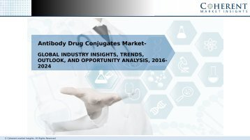 Global Antibody Drug Conjugates Market —  Opportunity Analysis, 2016–2024