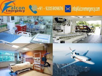 Air Ambulance Services in Ranchi and Varanasi by Falcon Emergency with All Medical Facilities
