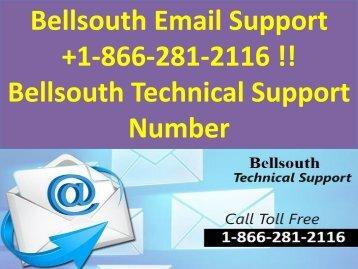 bellsouth customer support 1-866-281-2116  bellsouth support number