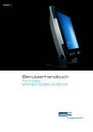 VMT6010/6012/6015 Handbuch DE V1.3 - Bci GmbH