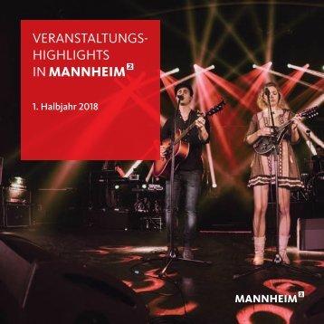 Veranstaltungshighlights 2018, 1. Halbjahr