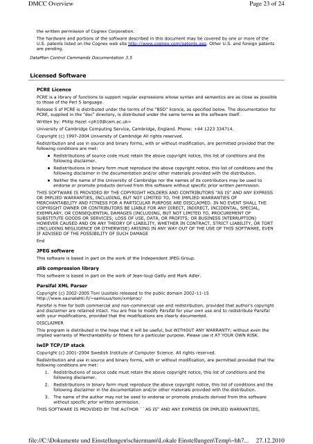 DMCC Overview SET|GET TEL