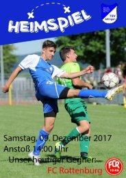 Stadionheftle gegen FC Rottenburg