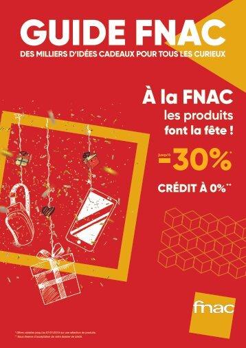 Catalogue fnac Fin d'année 2017