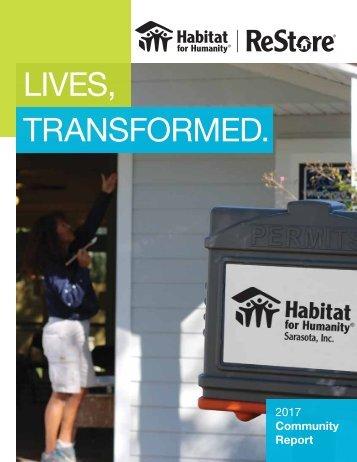 Habitat for Humanity Sarasota | 2017 Community Report