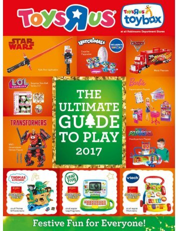 TOYSRUS CHRISTMAS CATALOG as of December 2017