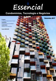 Revista Condomínio, Tecnologia e Negócios - Dezembro 2017