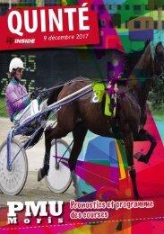 Analyse et programme du quinté pour ce week end PMU 09.12.17