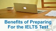 Benefits of Preparing For the IELTS Test