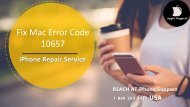 How to Fix Mac Error Code 10657? Dial 1855-341-4016 For Help