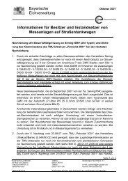 Informationen für Besitzer und Instandsetzer von Messanlagen auf ...