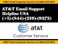 (+1)-844-219-9272 ATT-Customer-Service- USA