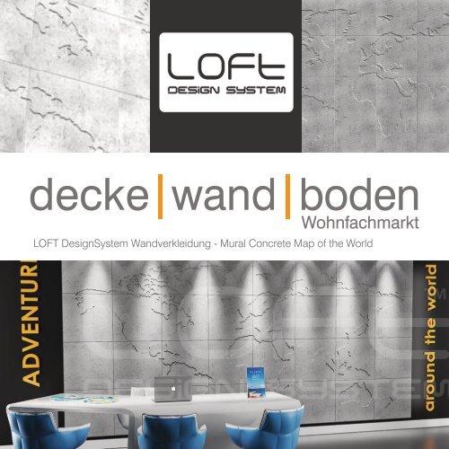 LOFT DesignSystem Modell Map of the World
