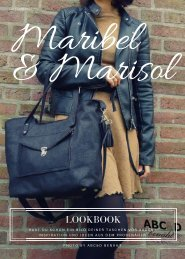 Lookbook Maribel und Marisol