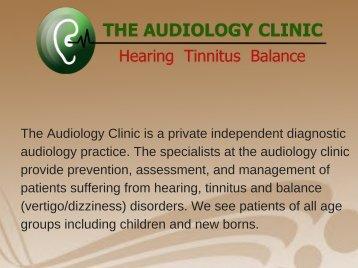 Tinnitus Clinic Dublin