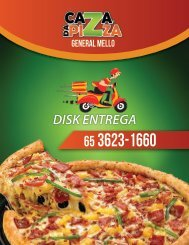MENU CAZA PIZZA digital