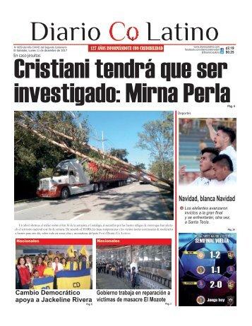 Edición 11 de diciembre de 2017