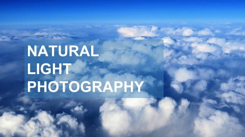 Natural Light Photography