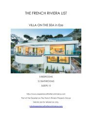 Villa on the Sea - Eze