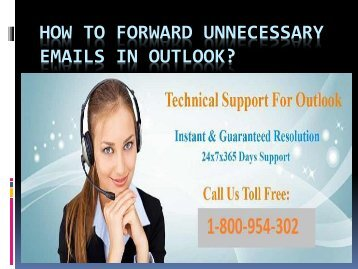 How to Forward Unnecessary Emails in Outlook