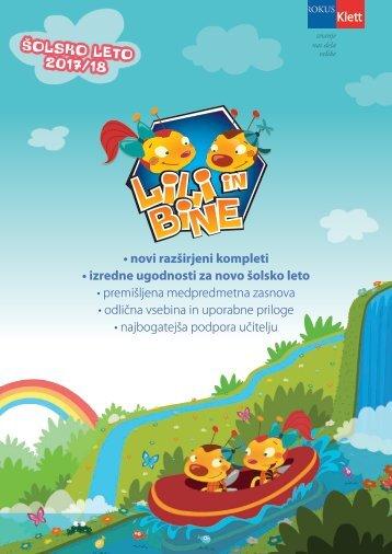Catalogue Lili and Bine_FEB_2017_Slovenia