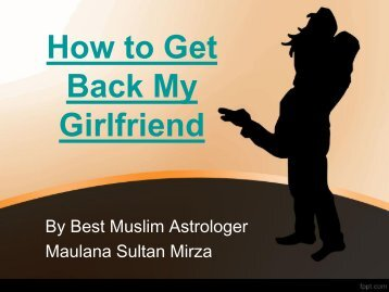 Tips How to Get Back My Girlfriend