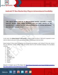 Android TV Box Market Key Players & Investment Feasibility