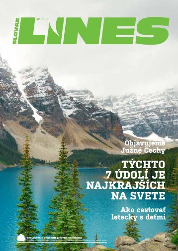In Drive magazín Slovak Lines 12/2017