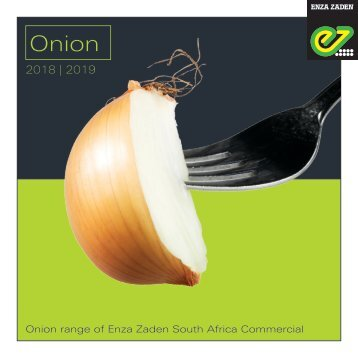 Onion South Africa 2018