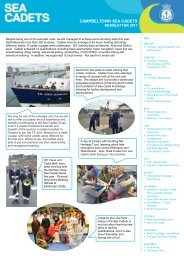 Campbeltown Sea Cadets Newsletter 2017