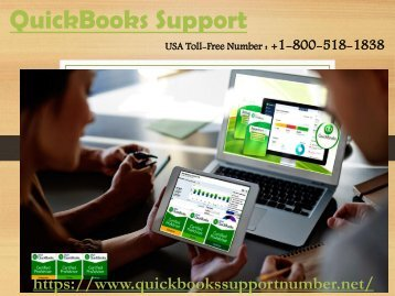 QuickBooks Support USA Number 8005181838