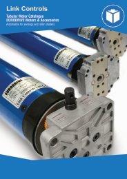 Link Controls Tube Motor Catalogue