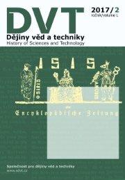 Dějiny věd a techniky 2017, 2
