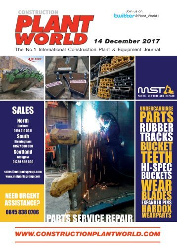 Construction Plant World 14th December 2017