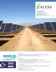 Newsletter ACERA - Noviembre 2017