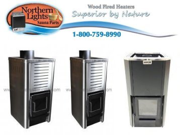 Wood Fired Sauna Heaters
